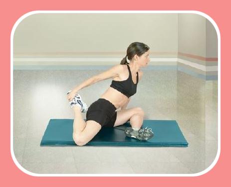quadriceps stretch 1