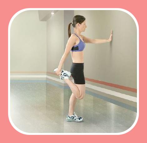 quadriceps stretching exercise 3