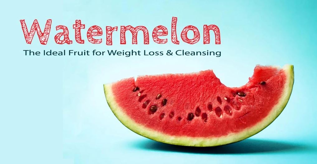 eating watermelon and losing weight
