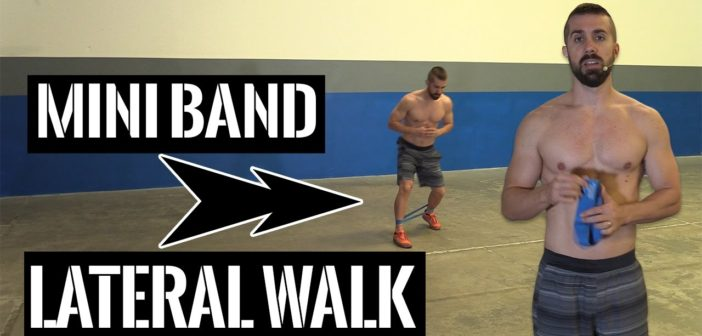 Mini Band Lateral Walk Exercise Guide