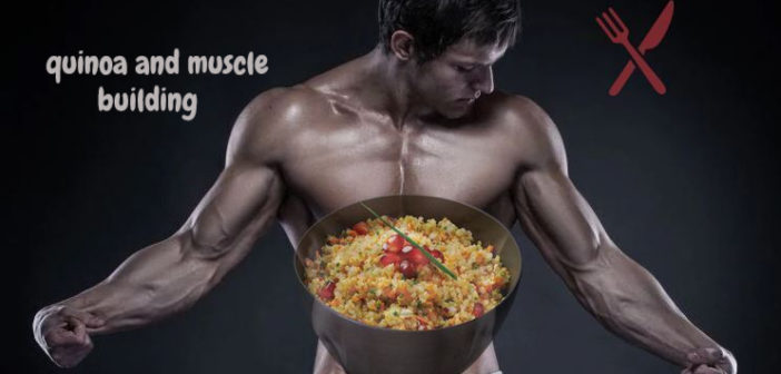 quinoa: muscle building foods