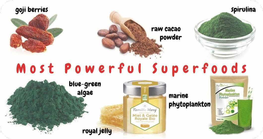 most powerful superfoods