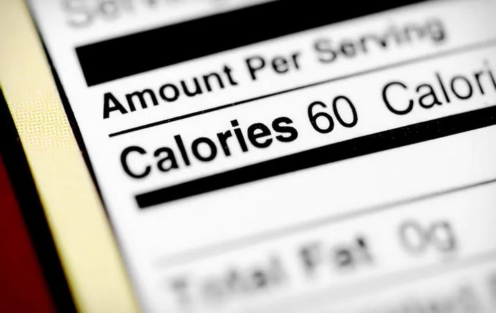 counting calories using food labels