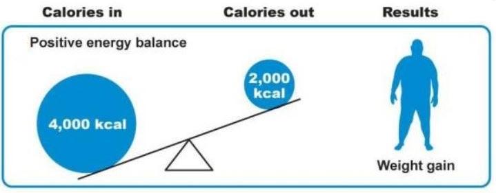 positive energy balance