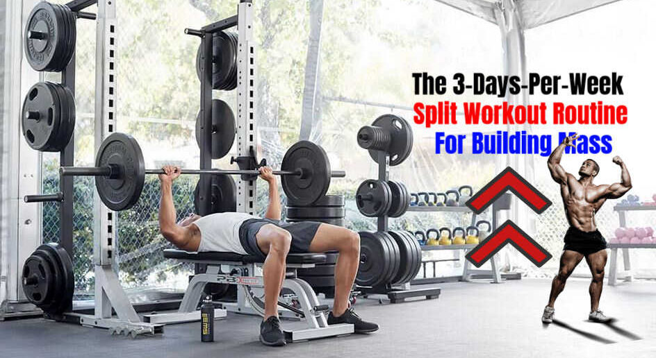 The 3-Days-Per-Week Split Workout Routine For Building Mass