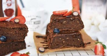Fitness Recipe: Banana Brownie Full of Protein