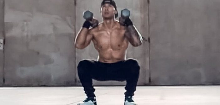 Dumbbell Front Squat Exercise Guide
