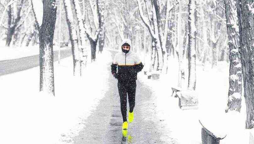 safety tips exercising outdoors winter