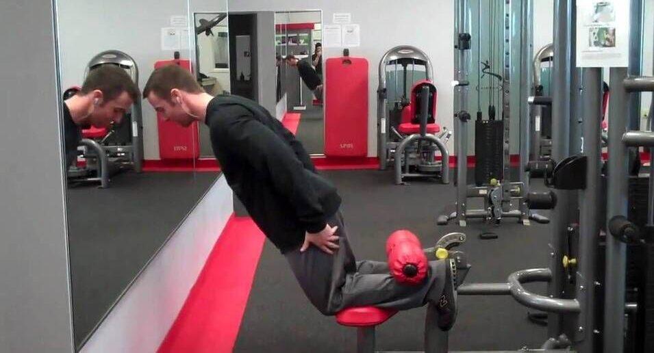 glute-ham raise bodybuilding