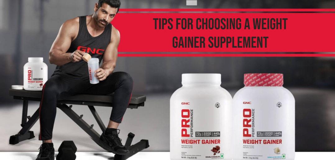 choosing weight gainer supplement