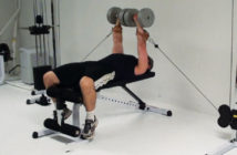 dumbbell cable press for massive chest