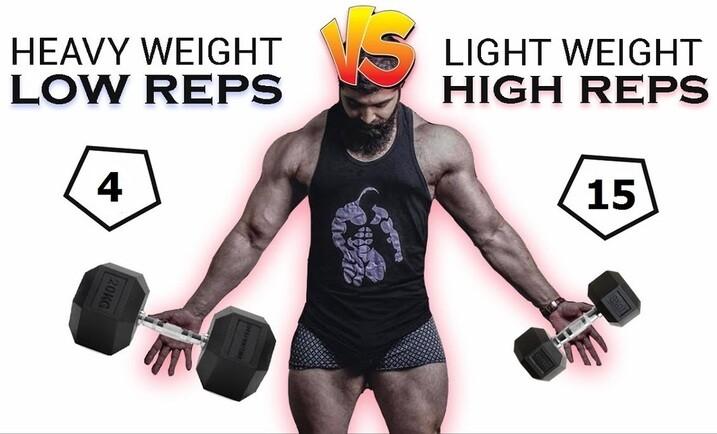 heavy weights vs light weights