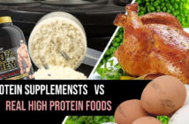 protein supplements versus real food