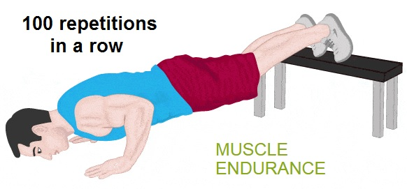 example of muscular endurance