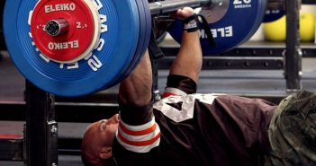 floor press with barbell
