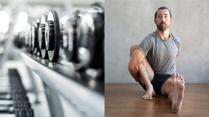 combining yoga and weight training