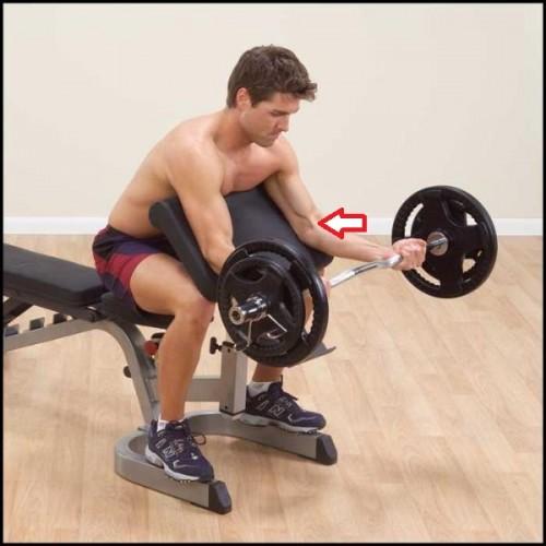 biceps exercises causing biceps tendonitis
